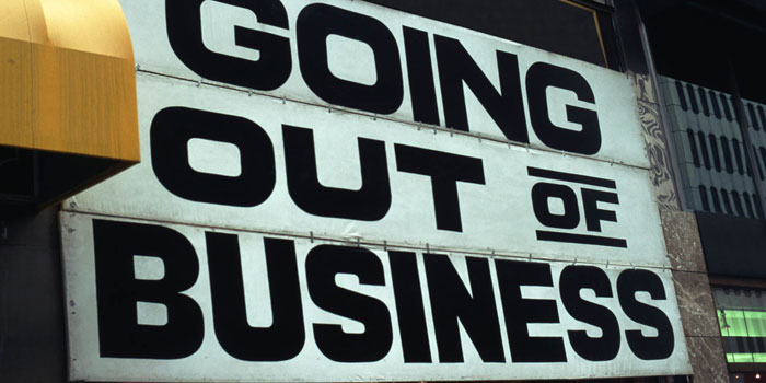 bankrupt negative energy in the business